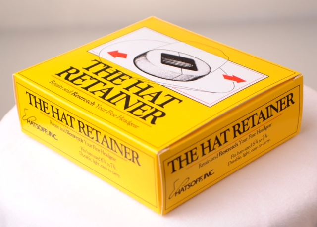 Hat Retainer box