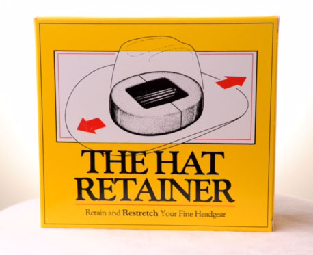 Hat Retainer box front