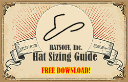 Free Hat Sizing Guide